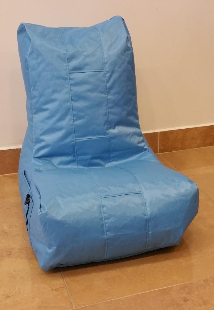 Dětský sedací pytel Omni Bag modrý 58x45x65