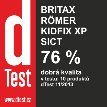 RÖMER Autosedačka KIDFIX XP SICT, Flame Red