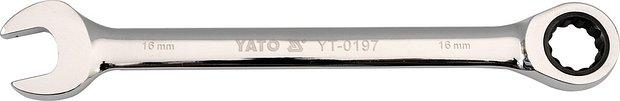Compass Klíč očkoplochý ráčnový 13 mm