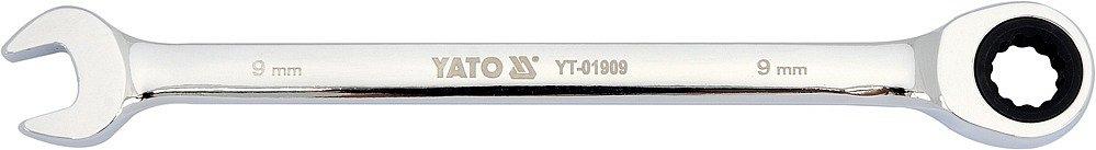 Compass Klíč očkoplochý ráčnový 9 mm