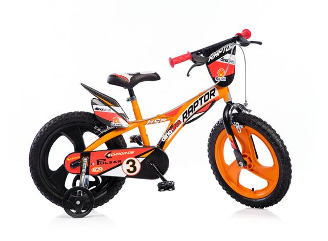 """ACRA 163GLN oranžová 16"""" 2017 dětské kolo"""