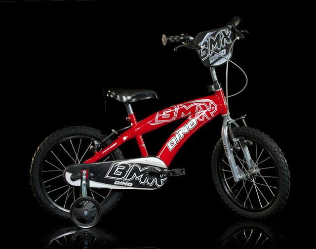 """Dino BMX 165XC červená 16"""" 2014 dětské kolo"""