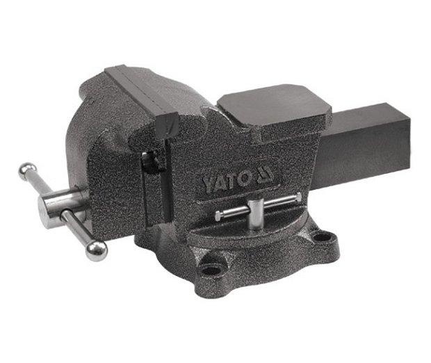 Svěrák zámečnický otočný 200 mm 21 kg