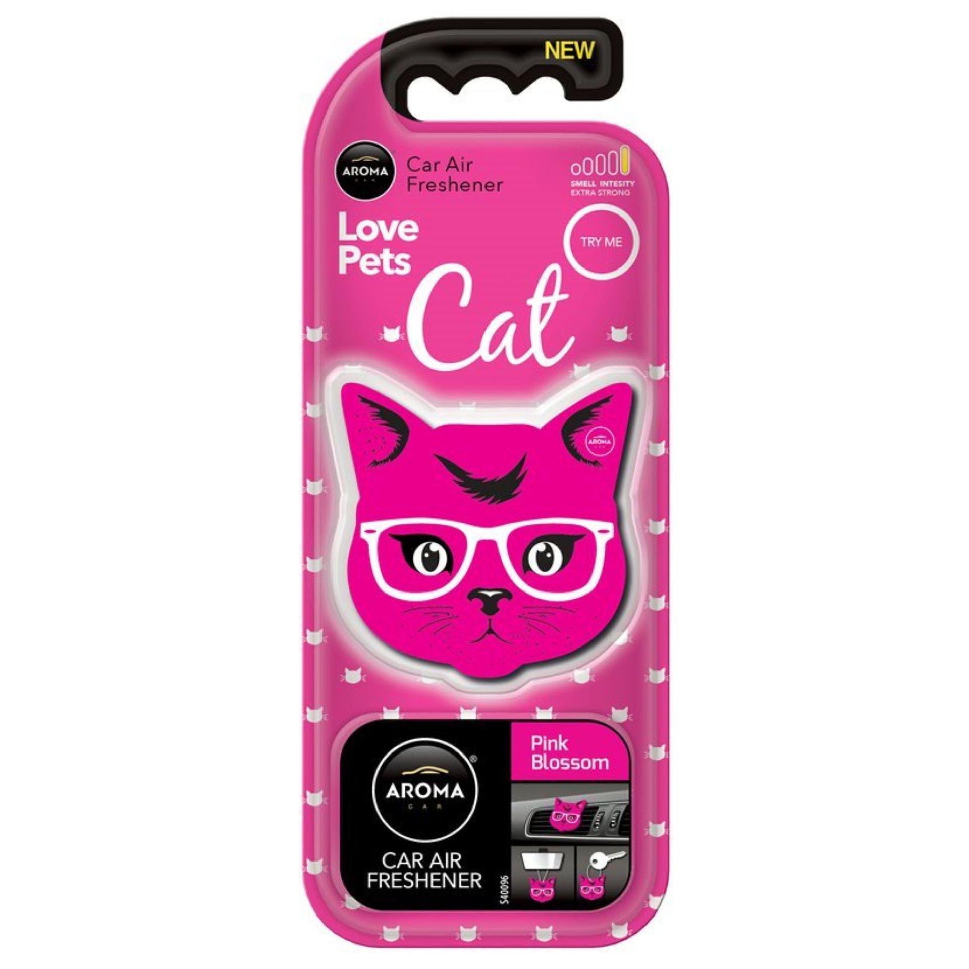 Compass Osvěžovač AROMA CAR Cat pink blossom
