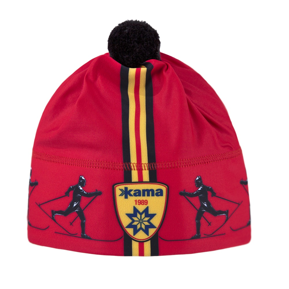Běžecká čepice Kama AW57 - Windstopper červená