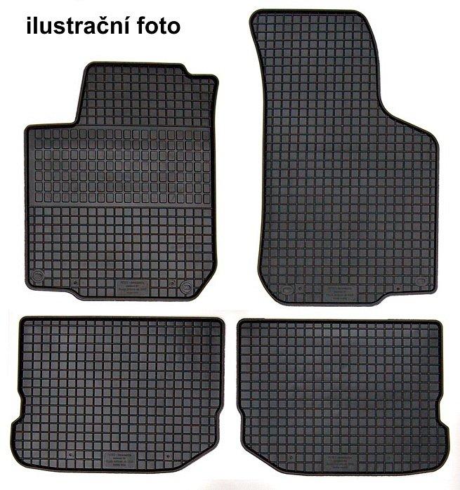 Koberce gumové přesné - Škoda Fabia II (07-)