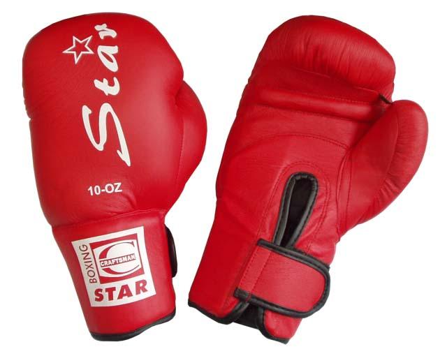ACRA Boxerské rukavice - PU kůže vel. XS - 6 oz.
