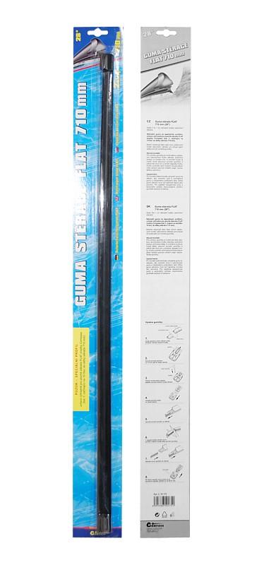 Guma stěrače FLAT 710 mm 2ks