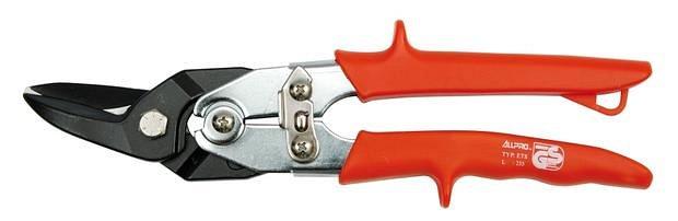 Nůžky na plech 255 mm levé CrMo