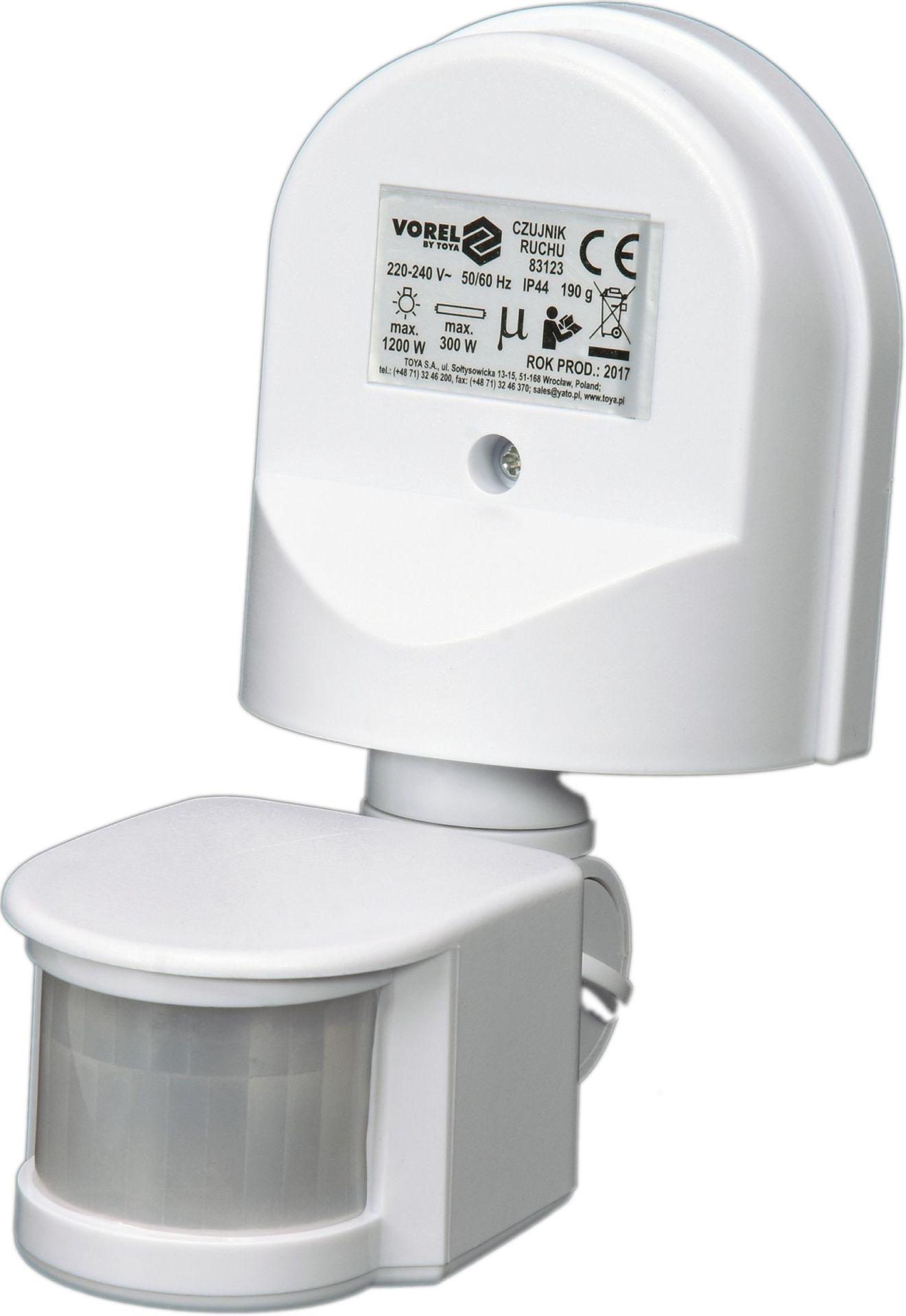 Compass Čidlo pohybu venkovní bílé IP44