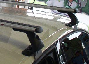 Střešní nosiče Piccola FL3021+TA2115 Flexbar Alu - Škoda Octavia III