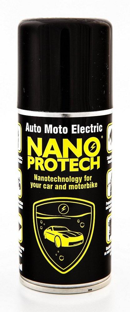 Compass NANOPROTECH Auto Moto ELECTRIC 150ml žlutý
