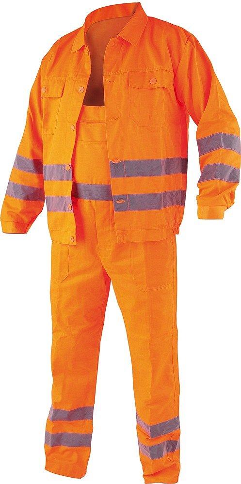 Compass Pracovní oděv, reflexní kalhoty a blůza, CRESTON vel. S