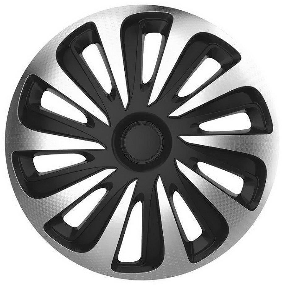 "Compass Kryty kol 14"" CALIBER Carbon (sada) silver/black"