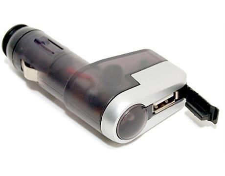 Zástrčka do zapalovače USB 12V Compass 07411 - SKLADOVÝ VÝPRODEJ