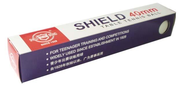 ACRA Shield G1801C-40 pingpongové míčky