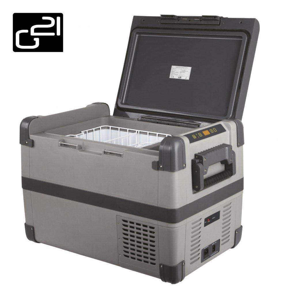 Autochladnička G21 kompresorová 60 litrů 12V/24V/100-230V