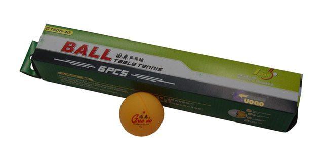 Acra G1806-40 6ks pingpongové míčky 40mm se švem