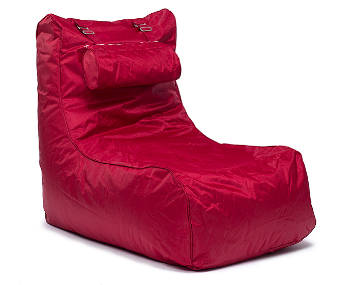 Sedací pytel Pillow lounge Omni Bag vínově červený