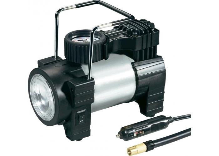 Kompresor do auta s LED svítilnou 12 V 856648 - SKLADOVÝ VÝPRODEJ