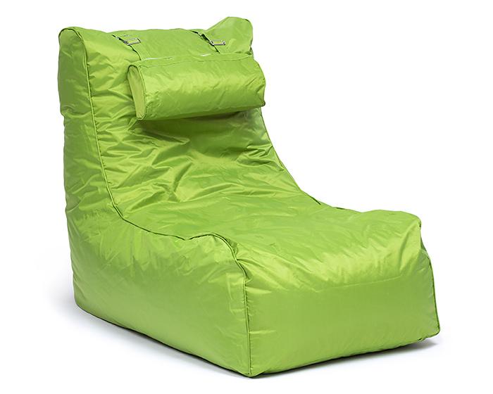 Omni Bag Pillow Lounge zelený - sedací pytel - křeslo s podhlavníkem