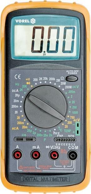 Multimetr digitální