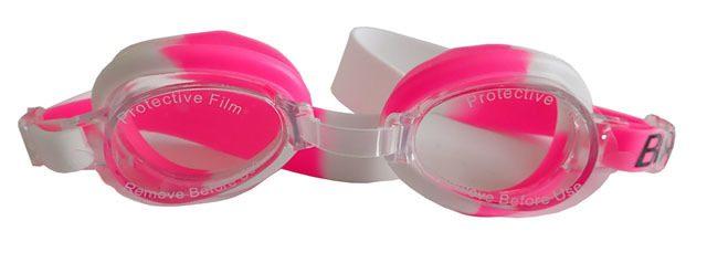 ACRA Juniorské plavecké brýle STREAM - silikonové