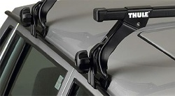 Střešní nosiče Thule 953+763 pro vozy s odtokovým žlábkem šíře 150 cm