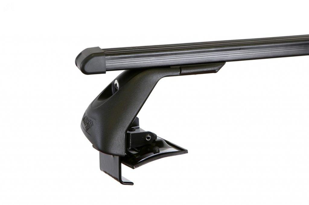 Střešní nosiče ELSON auto FL2063+TP2115 Flexbar tyče ocel - Škoda Fabia II Combi bez podélní