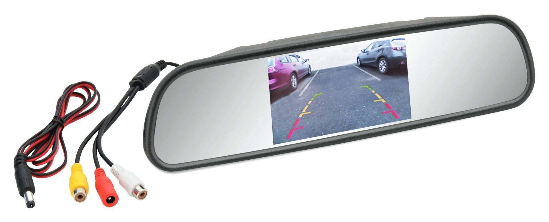 Compass LCD display/zrcátko na zpětné zrcátko
