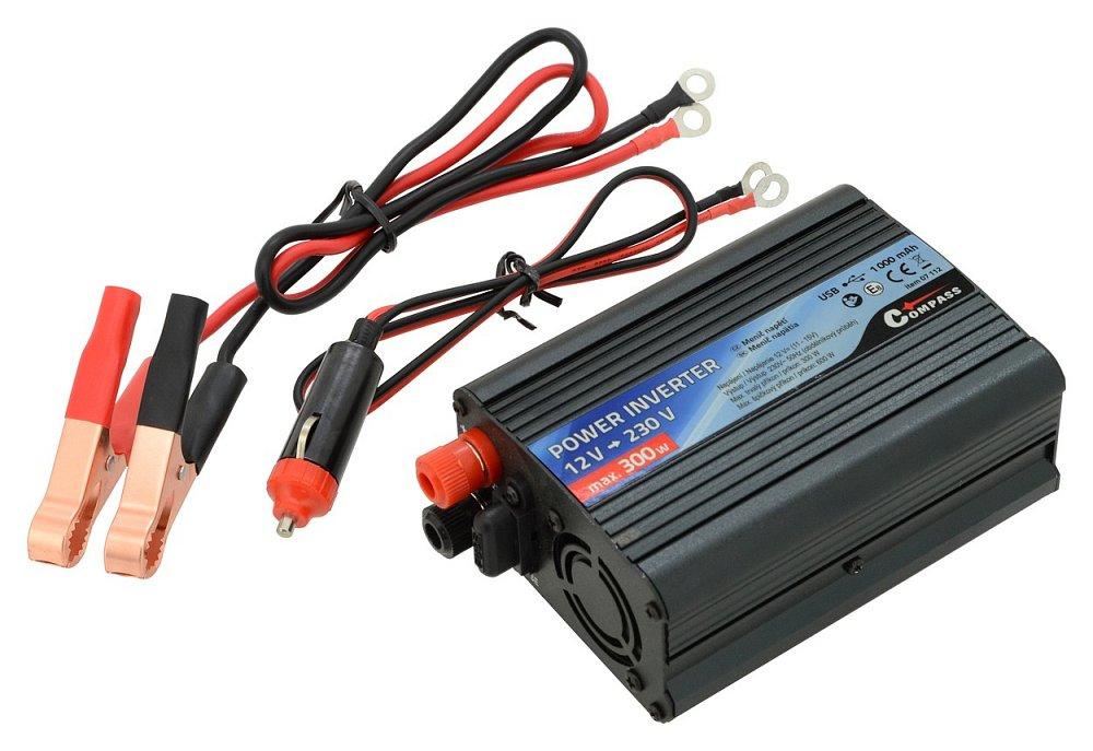 Compass Trafo 12/230V 300W + USB