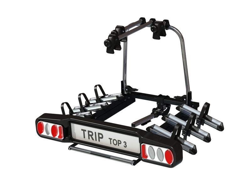Hakr Trip 3+1 Top - nosič kol na TZ pro až 4 kola !! DOPRAVA A ADAPTER ZÁSUVKY ZDARMA***
