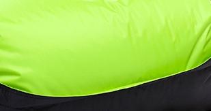 Omni Bag Duo Green Frog-Black 121x141 - sedací pytel