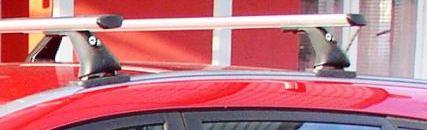 Střešní nosiče Piccola FL4036+TA2115 Flexbar Alu - Hyundai i30 II kombi