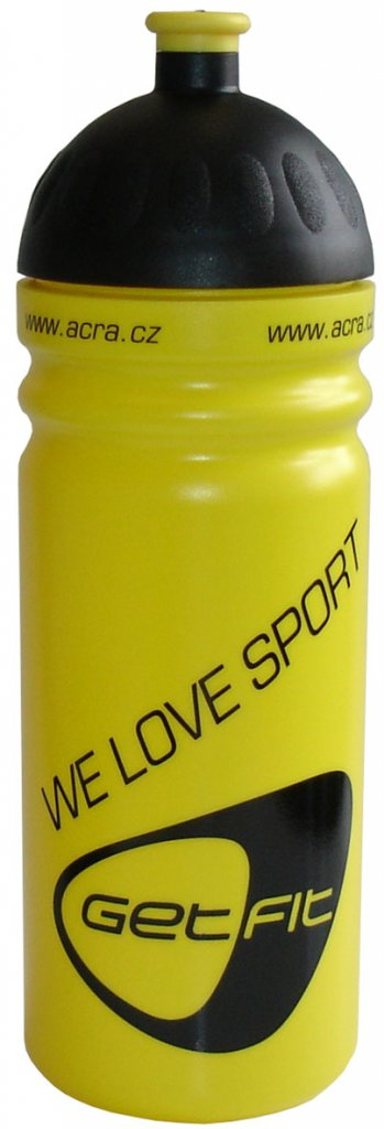 Acra lahev CSL07 0,7L žlutá