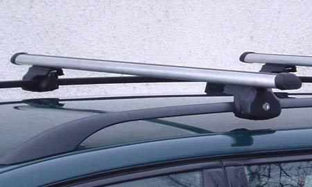 Hakr 0013+0015 - hliníkové příčníky s T-drážkou na standardní hagusy - délka 120 cm