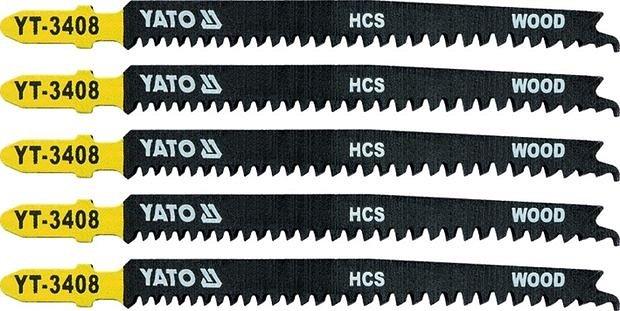Compass List pilový do přímočaré pily na dřevo typ T 13-8TPI sada 5 ks
