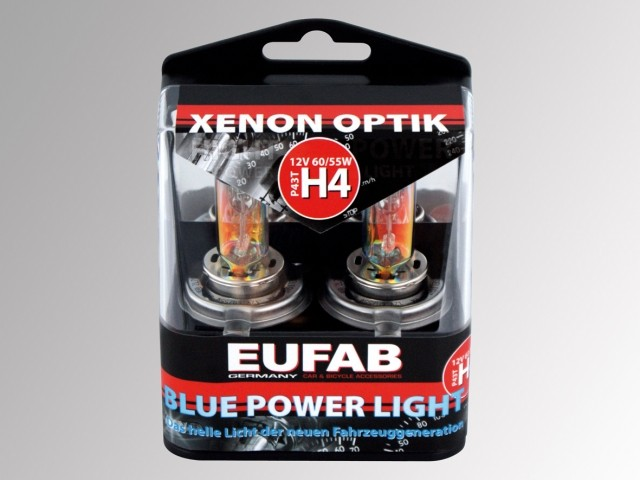 AUTOŽÁROVKY	Eufab H4 Blue Power Light