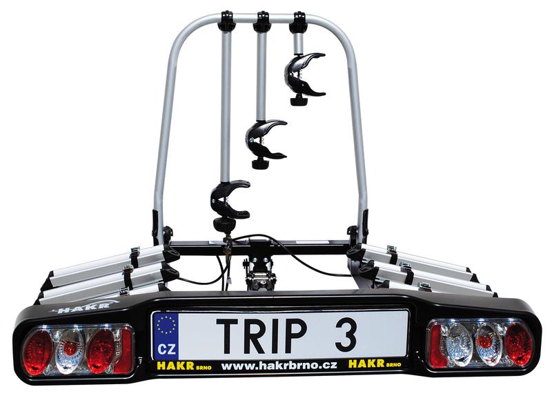 Hakr Trip 3 Middle - nosič kol na TZ pro 3 kola !! DOPRAVA A ADAPTER ZÁSUVKY ZDARMA***