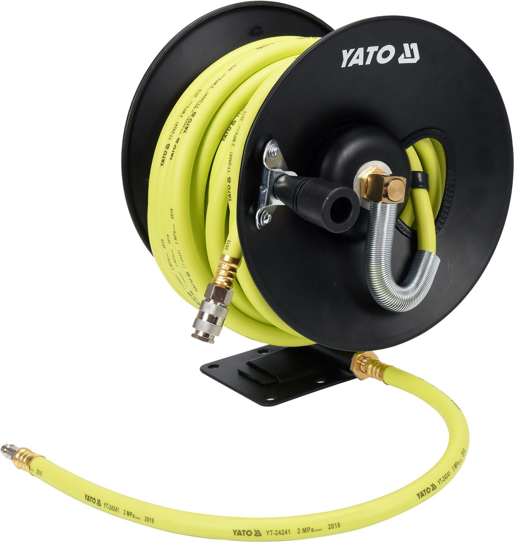 Compass Naviják se vzduchovou hadicí PVC+NBR 9,5mm, 15m