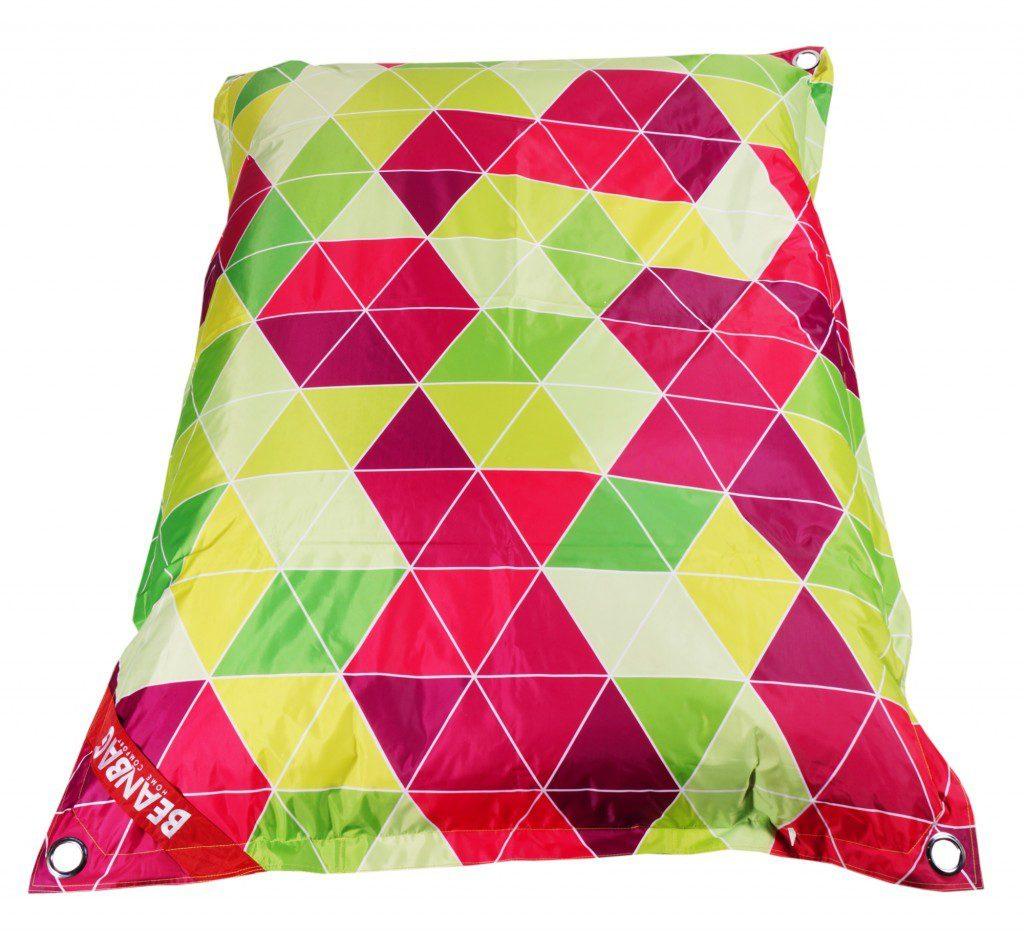 Designový sedací vak Beanbag 189x140 triangle s popruhy