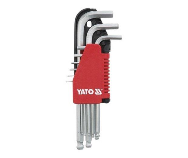 Compass Sada klíčů imbus s kuličkou 9 ks extradelší
