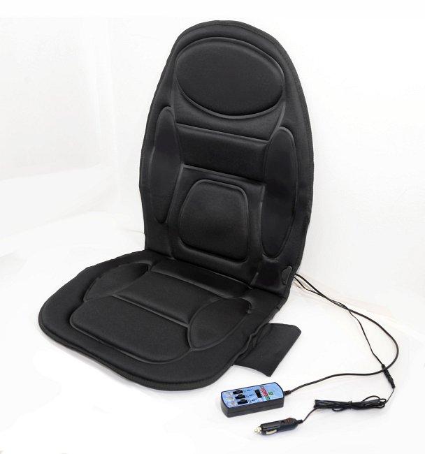 Potah sedadla Compass masážní s vyhříváním 12V (3x motor) - SKLADOVÝ VÝPRODEJ