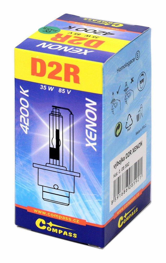 Výbojka D2R XENON homologovaná 4200K