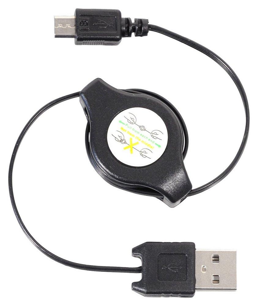 Compass Nabíječka telefonu USB - MICRO USB navíjecí