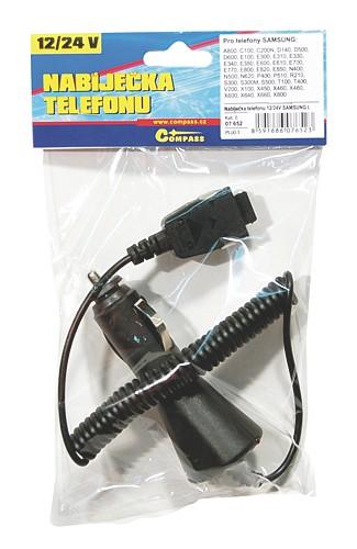 Nabíječka telefonu 12/24V SAMSUNG I.