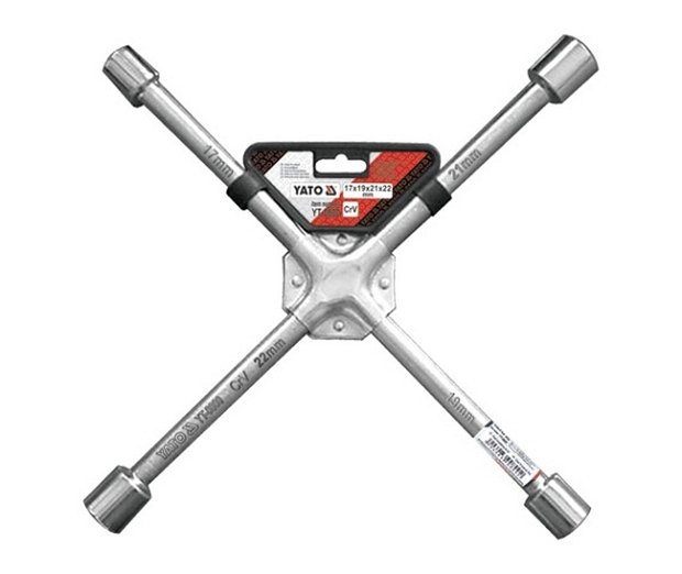 Compass Klíč na kola křížový 17-19-21-22