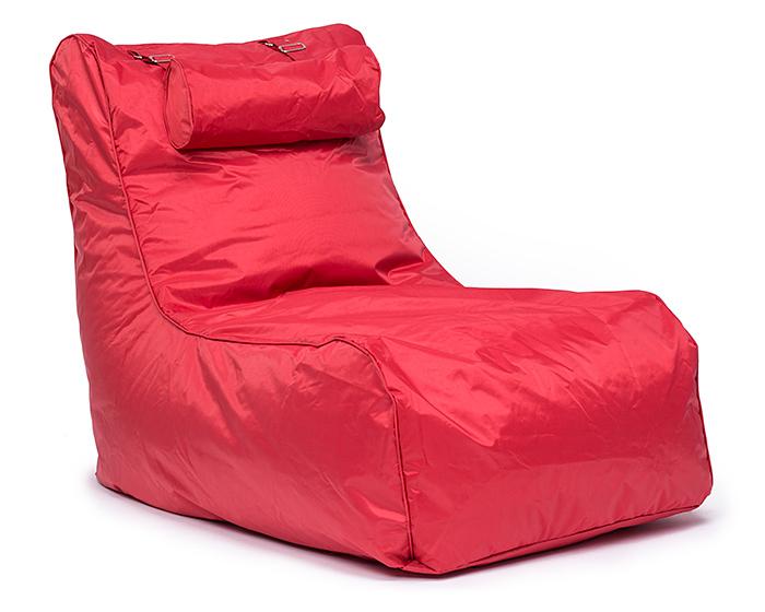 Omni Bag Pillow Lounge červený - sedací pytel - křeslo s podhlavníkem