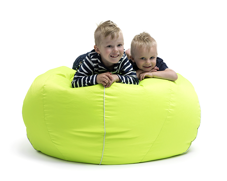 Omni Bag Tennis - sedací pytel - vzhled tenisového míče
