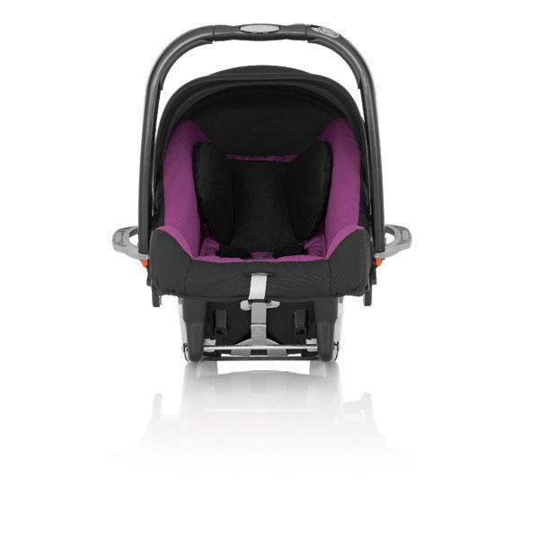 RÖMER BabySafe plus SHR II - Trend Line 2014, Cool Berry